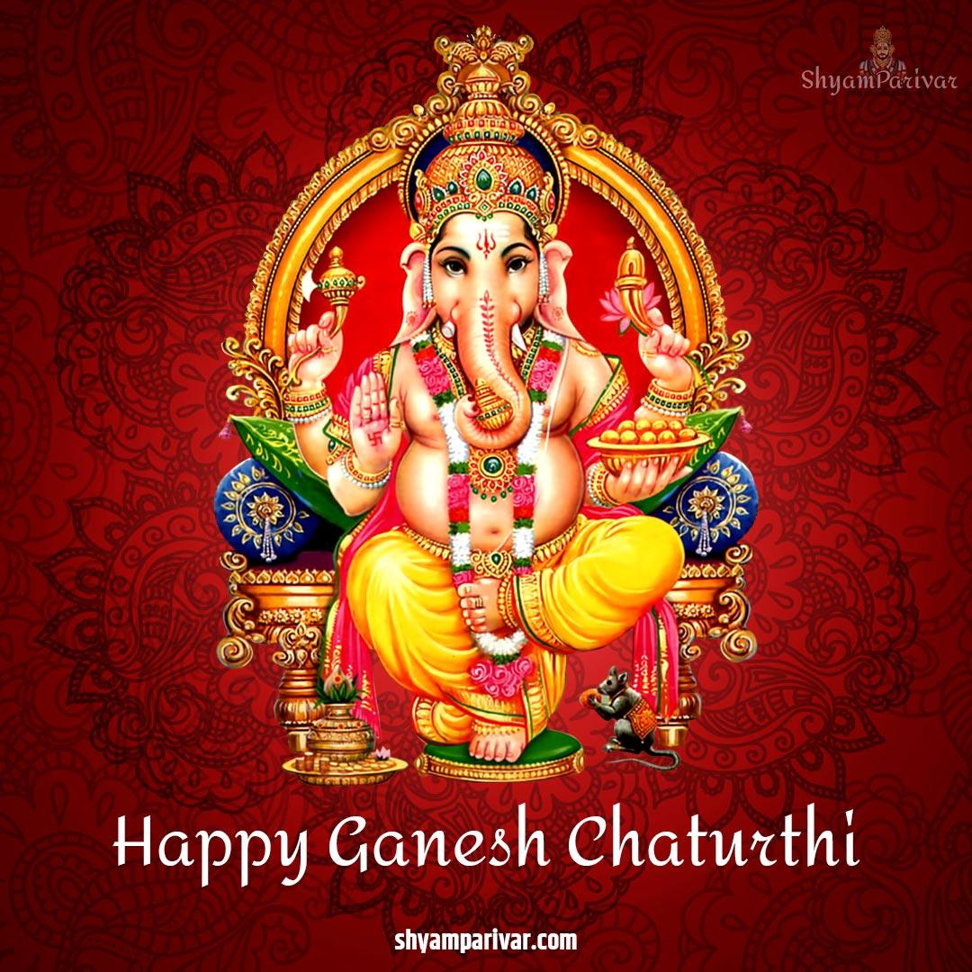 Happy Ganesh Chaturthi in Hindi status