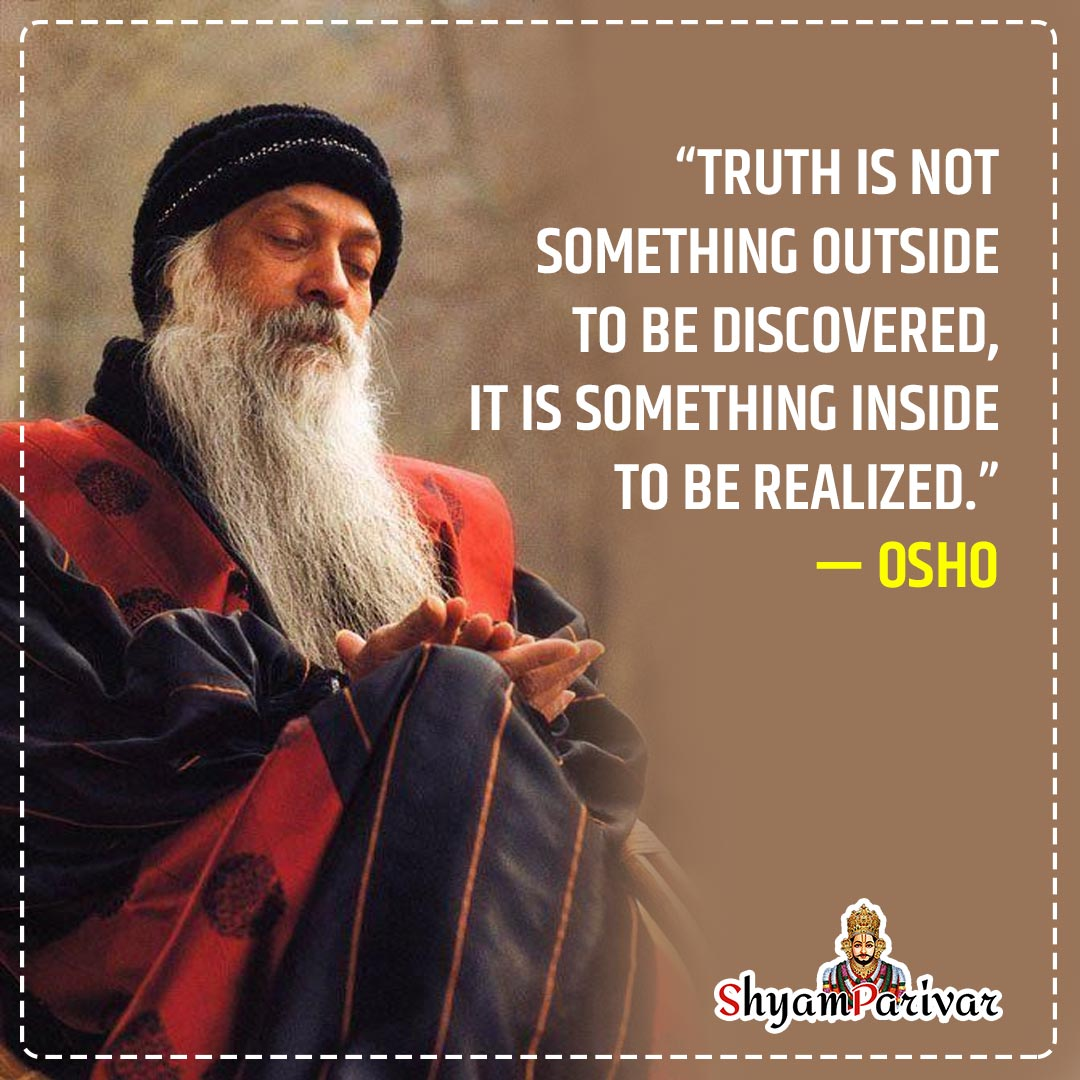 Inspirational Thoughts about life and success by osho