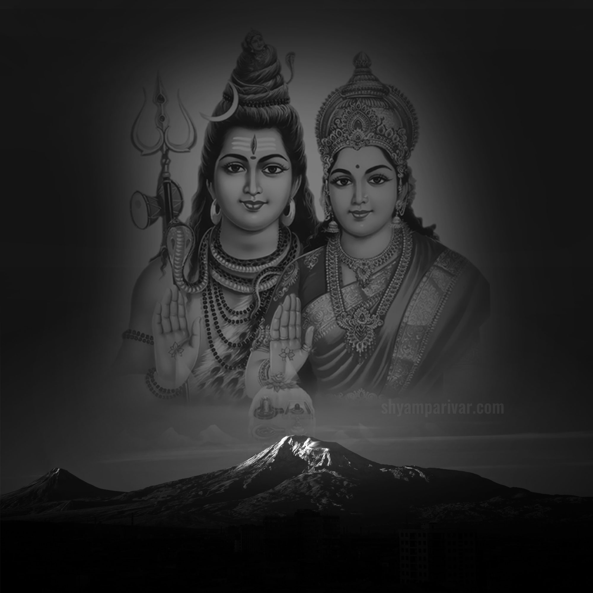 lord shiva and parvati