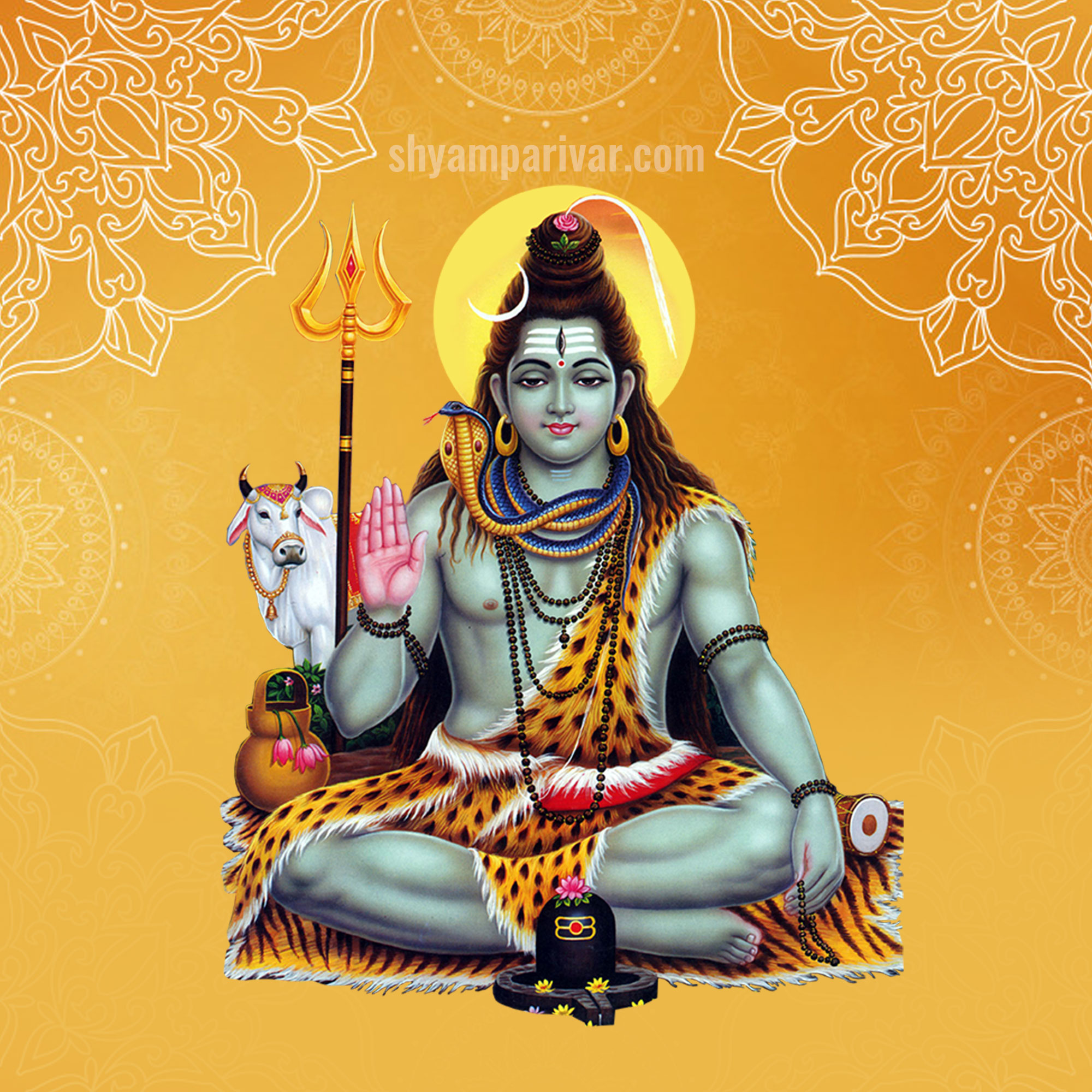 lord shiva drawing
