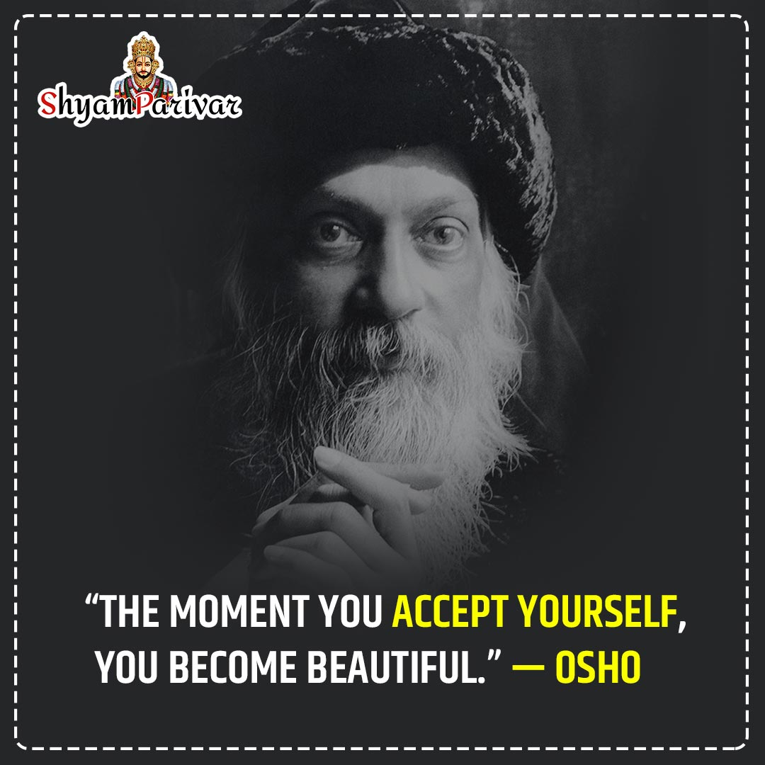 Spritual Quotes by osho on life